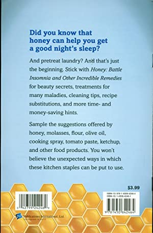 HONEY: Battle Insomnia and Other Incredible Remedies: Davidson, Jeff; Elliot, Betsy Rossen