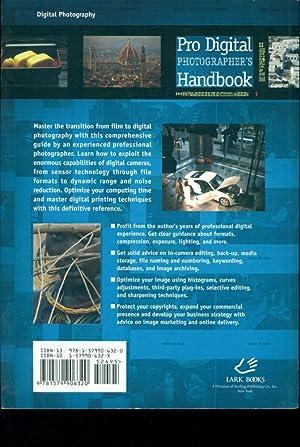 9781579906320 Pro Digital Photographers Handbook Lark Photography Book