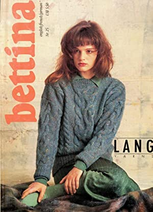 BETTINA Nr. 25 : English/French/German : Lang Yarns, Knitting Patterns