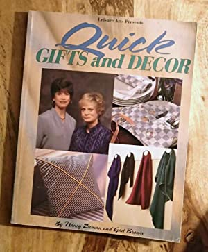 QUICK GIFTS & DECOR : Leisure Arts, Sewing with Nancy Series
