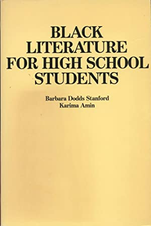 BLACK LITERATURE FOR HIGH SCHOOL STUDENTS