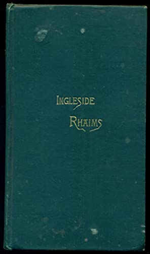 INGLESIDE RHAIMS: VERSES IN THE DIALECT OF BURNS