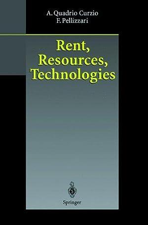 Rent, Resources, Technologies. ; Fausta Pellizzari: Quadrio Curzio, Alberto