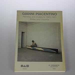 Gianni Piacentino. Painting and Sculpture 1965-1981. Bilder: Onnasch, Reinhard (Ed.)