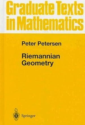 Riemannian geometry. (=Graduate texts in mathematics ;: Petersen, Peter: