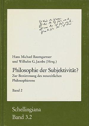 Philosophie der Subjektivität? Zur Bestimmung des neuzeitlichen: Baumgartner, Hans Michael