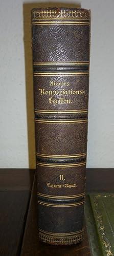 Meyers Konversations-Lexikon. Eine Encyklopädie des allgemeinen Wissens.: Meyer.-