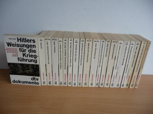 *dtv-Dokumente : Konvolut: 20 Bücher: Diverse