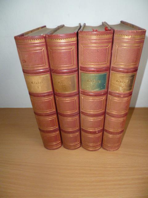 *Sämtliche Werke (4 BÜCHER): Kleist, Heinrich v.