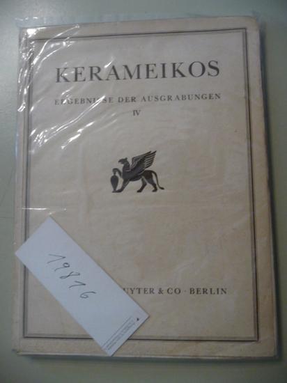Neufunde aus der Nekropole des 11. und 10 Jahrhunderts.: K�bler, Karl