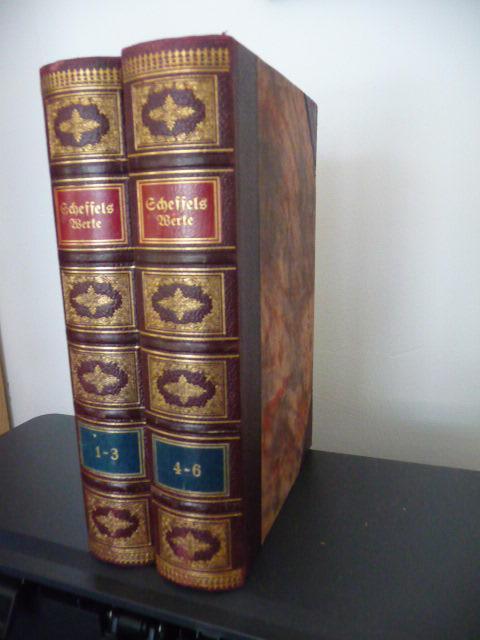 *Werke in sechs Bänden (2 BÜCHER): Scheffel, J.V. von