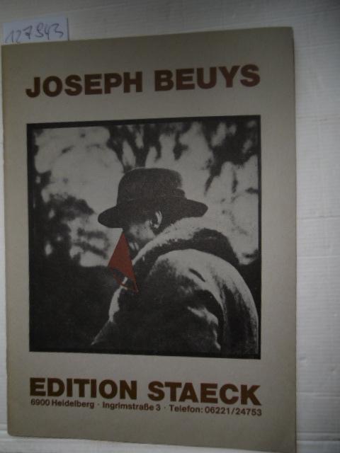 Katalog der Edition Staeck. Mit Preisliste: Beuys, Joseph