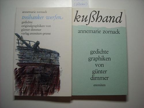 Kußhand : Gedichte + Treibanker werfen : Gedichte (2 Bücher)