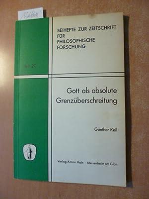 Zeitschrift für philosophische Forschung . - Teil: Keil, Günther
