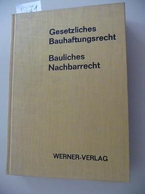 Gesetzliches Bauhaftungsrecht: Korbion, Hermann ; Scherer, Emil