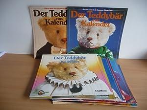 Bären sind doch bessere Menschen - Der Teddybär Kalender 1984 + 1985 + 1986 + 1987 + 1988...