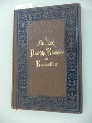 Deutsche Klassiker und Romantiker - Aufsätze: Hans Altm�ller