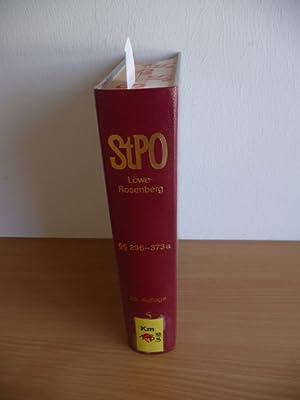 Die Strafprozeßordnung und das Gerichtsverfassungsgesetz . - Teil: Bd. 5., §§ 296 -...