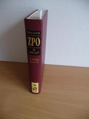 Kommentar zur Zivilprozeßordnung . - Geb. Ausg. - Teil: Bd. 4. Teilbd. 1., §§ 300 -...