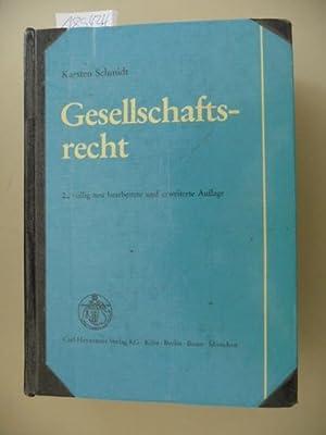 Gesellschaftsrecht: Schmidt, Karsten