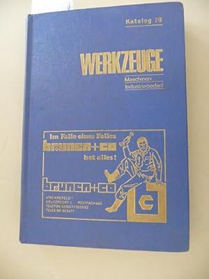 Werkzeuge - Maschinen - Industriebedarf - Katalog 78: Verlag Alfred Hasselbeck (Hrsg.)