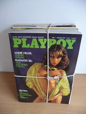 Playboy. Alles was Männern Spass macht - 1981 - (11 Hefte) ohne Nr. 2: Hugh M. Hefner (Editor)