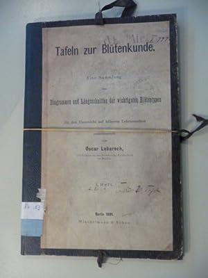 Tafeln der Blütenkunde. Eine Sammlung von Diagrammen und Längsschnitten der wichtigsten ...