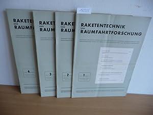 Raketentechnik und Raumfahrtforschung. Zeitschrift für Strahl-Antriebe und -flugkörper, ...