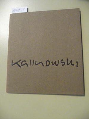 Horst Egon Kalinowski. Katalog zur Ausstellung im: Diverse