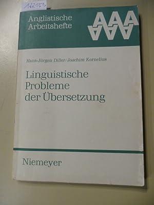 Anglistische Arbeitshefte ; 19 Linguistische Probleme der: Diller, Hans-Jürgen ;