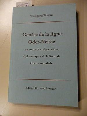 Genèse de la ligne Oder-Neisse au cours des négociations diplomatiques de la seconde ...