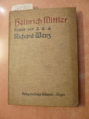 Heinrich Mittler: Richard Wenz