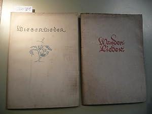 Wiesenlieder + Wanderlieder. Geschrieben von Heinrich Jost. (2 BÜCHER): Simons, Anna