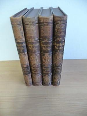 Klopstocks Werke (Vier Bände) - Deutsche National-Litteratur - Historisch kritische Ausgabe - ...