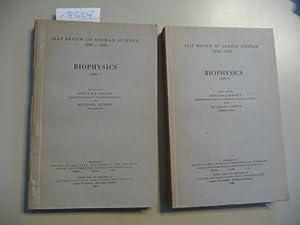 Biophysics - Teil: 1. + 2. (2 BÜCHER): Rajewsky, Boris ; Schön, Michael