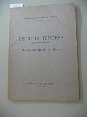 Catalogue des Biscuits Tendres du XVIII Siecle de la Manufacture Royale de Sevres - Statuettes - ...