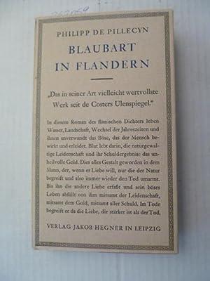 Blaubart in Flandern : ein Roman: De Pillecyn, Filip
