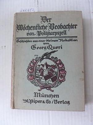 Der Wöchentliche Beobachter von Polykarpszell. Geschichten aus einer kleinen Redaktion. Mit ...
