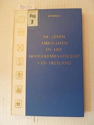 De Zeven ambachten en het Hoogheemraadschap van Delfland: Dr. J-P. Winsemius