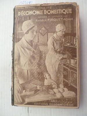Traite D'Economie Domestique - remanie et compete par Angele Firquet-Adam: Louisa Mathieu
