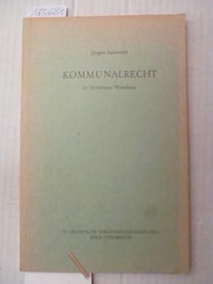 Kommunalrecht in NRW: Jürgen Salzwedel