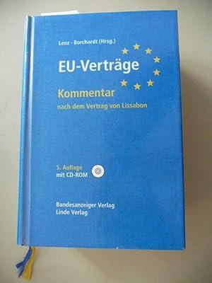 EU-Verträge : Kommentar nach dem Vertrag von Lissabon: Lenz, Carl Otto [Hrsg.] ; Bitterlich, ...