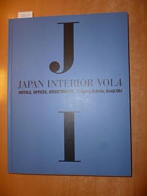 Japan Interior: Teil: Vol. 4. Hotels, offices, apartments: Uchida, Shigeru