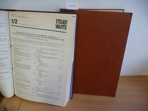 Die Neue Steuer-Warte (Steuerwarte) : 1950 bis 1976 + 1981 bis 2000 (21 Bände): Verein der ...