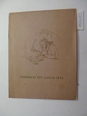 Terribilis est locus iste. Eine bibliophile Anekdote.: Peltzer-Wagner, Marianne (Bilder)