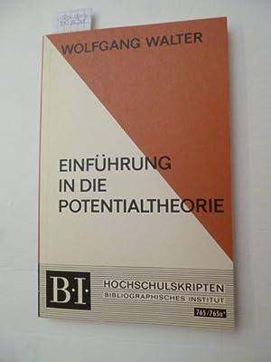 Einführung in die Potentialtheorie : mit einem Kapitel über elliptische ...