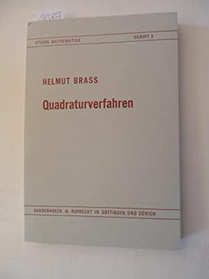 Quadraturverfahren: Braß, Helmut