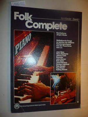 Folk Complete für Klavier, Band I. Weltbekannte: Jürgen Moser