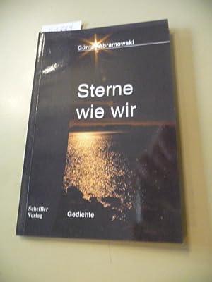 Sterne wie wir - Positionen, Phasen, Atmosphären: Abramowski, Günter