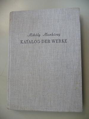 Katalog der Gemälde und Zeichnungen Mihaly Munkacsys: Vegvari, L. (Hg.)